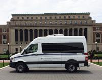 Image of diesel Mercedes Sprinter van.